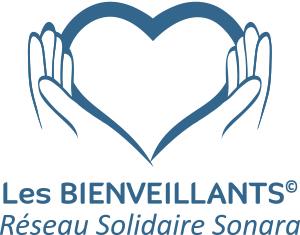 logo les bienveillants - réseau solidaire Sonara